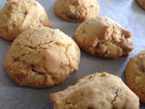 how to make choc chip cookies a little healthier