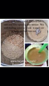 quinoa and oats
